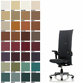 Hag fauteuils de direction ergonomique for Chaise norvegienne