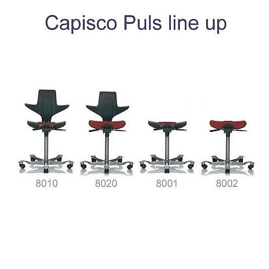 HÅG Capisco Puls line up